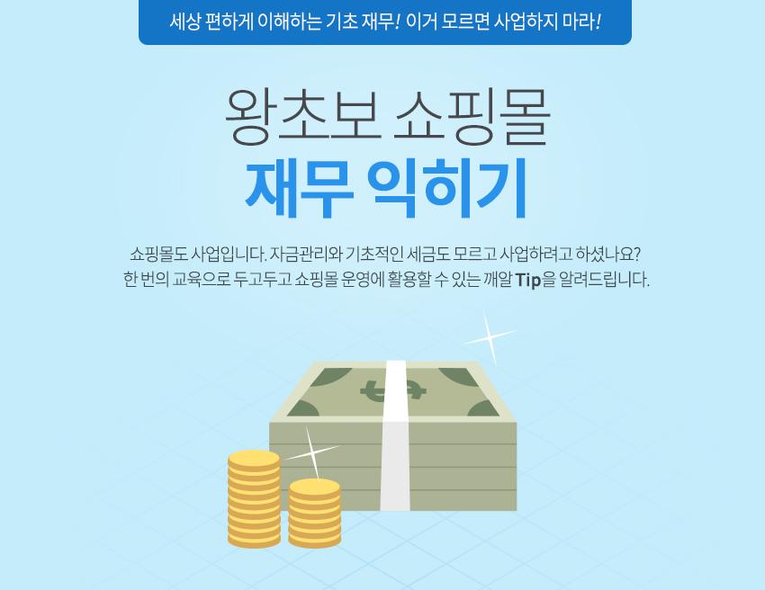 왕초보 쇼핑몰 재무 익히기